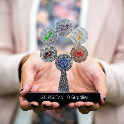 Tra i Top Supplier di GF Machining Solutions anche FANUC