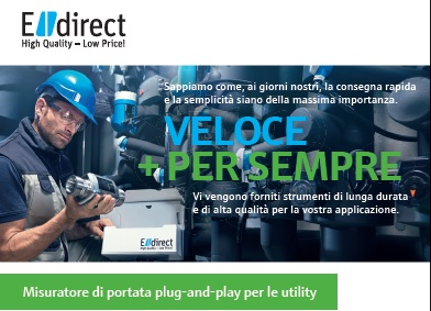 Misuratore di portata plug-and-play