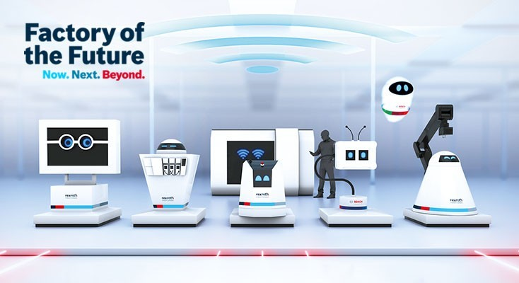 La Factory of the Future di Bosch